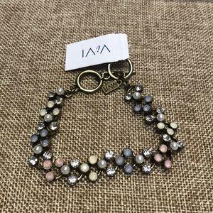 NWT ViVI crystal toggle Bracelet!